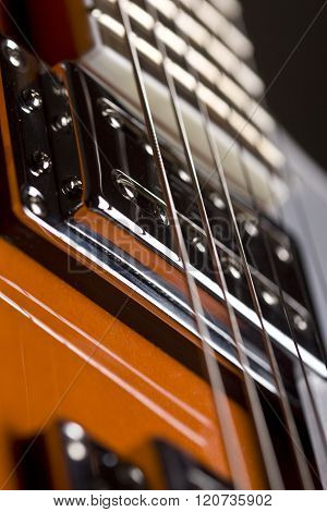 Orange Electrical Guitar