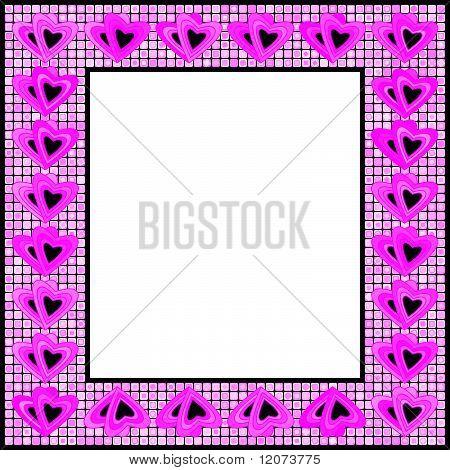 Vector Valentine's Day frame