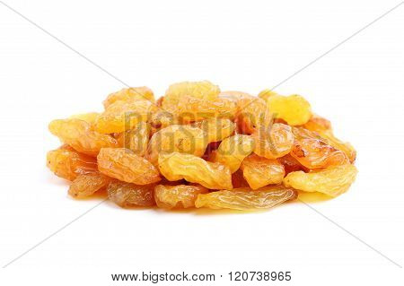 Delicious Raisins Isolated.