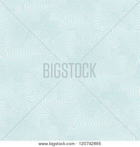 Vector Seamless Background. Modern Texture In Pastel Colors. Abstract Blue And White Pattern