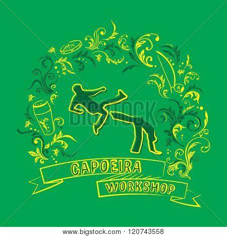Capoeira workshop logo