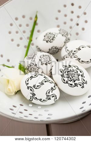 Baroque Easter eggs