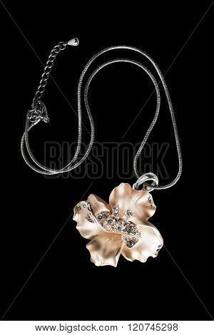 Necklace On Black