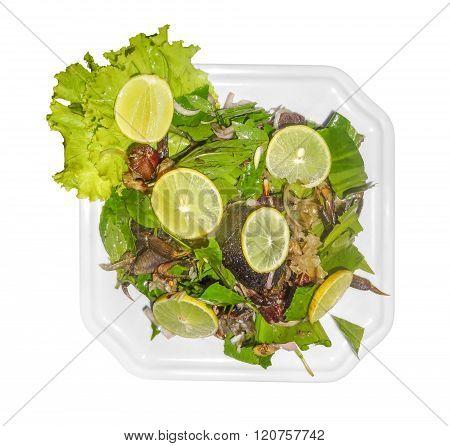 Prepared Seafood Dish