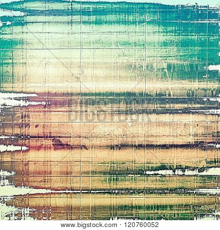 Retro background with grunge texture. With different color patterns: yellow (beige); brown; green; blue; purple (violet)