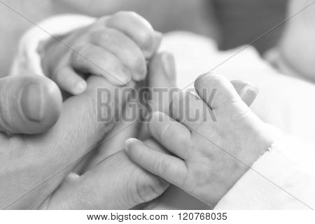 Holding Fathers Hand