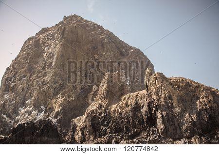 Haystack Rock Looming