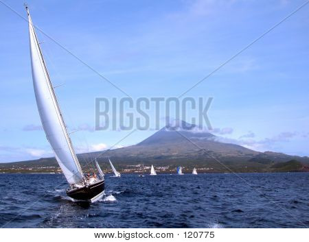 Sailing In Azores