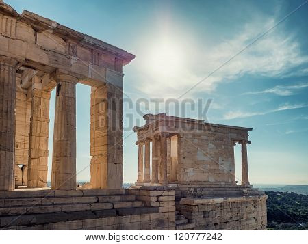 Temple Of Athena In Acropolis