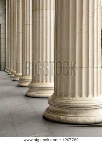 Row Of Columns