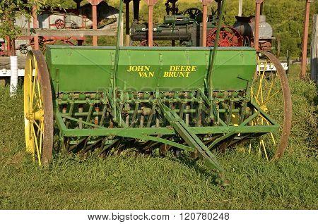Old John Deere Grain Drill
