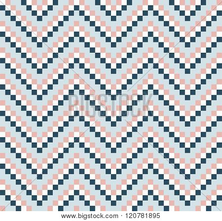 seamless pattern with simple chevron ornament