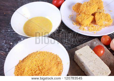 Homemade Chicken Nuggets Tempura