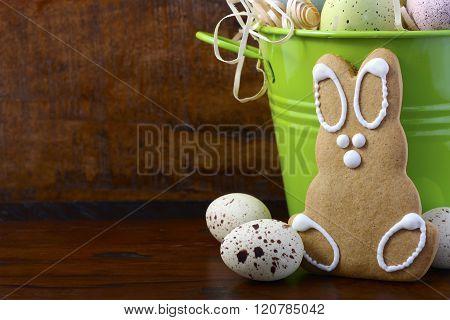 Happy Easter Gingerbread Cookie Bunnies