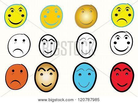 Smiley Face Set