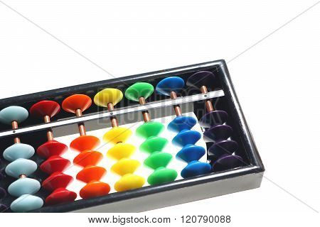 Japanese abacus calculation board(soroban)