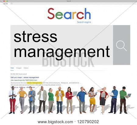 Stress Management Relaxation Healthcare Concept
