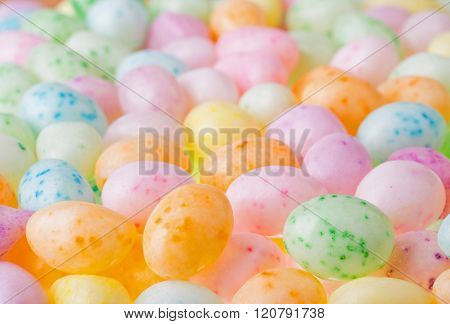 Easter Candy Background