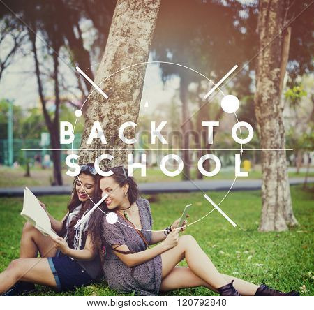 Back To School Learning Education Enrollment Concept