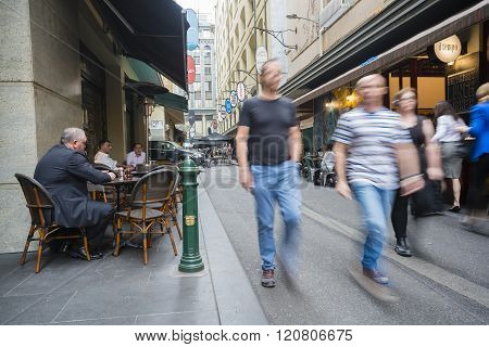 Laneway cafes in Melbourne