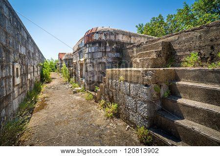 Fort Kabala upper floor