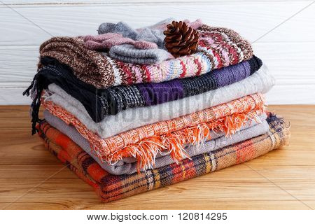 Winter Colorful Clothing
