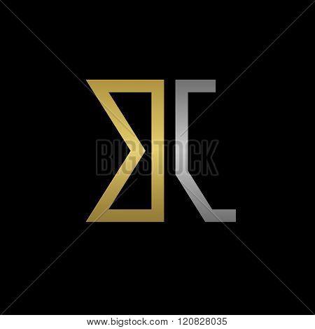 BJ letters logo