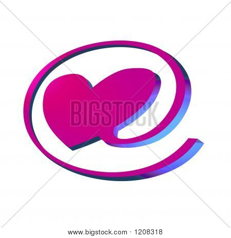 E-Love Pink Neon Sign
