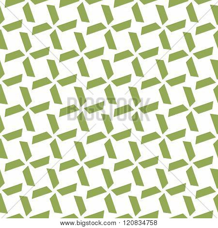 Seamless Colorful Abstract Pattern From Repetitive Trapezoids