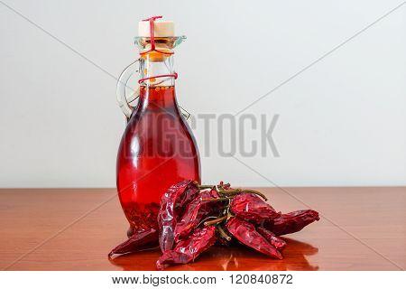 Hot chilli oil
