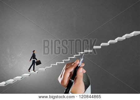 Climbing up the career ladder