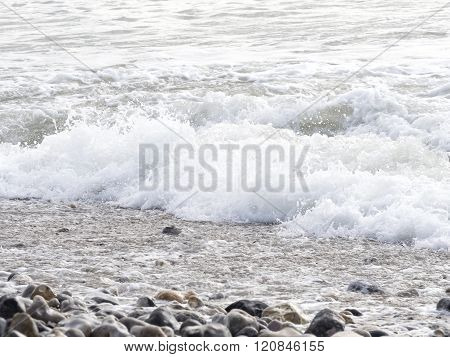 Sea ocean wave France Manche