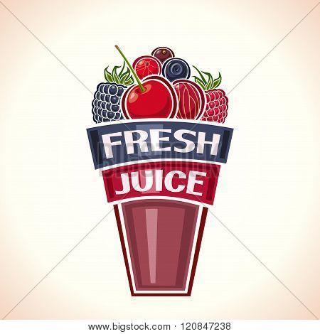 Fresh juice berries