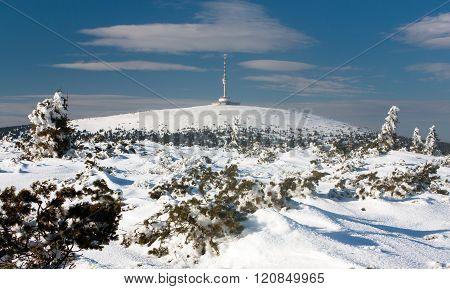 View Of Mount Praded - Jesenik - Czech Republic
