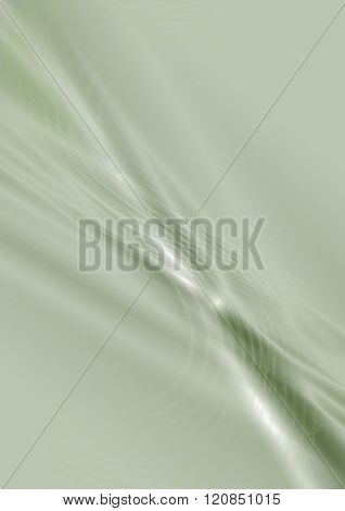 Pale greenish background with beam and flare