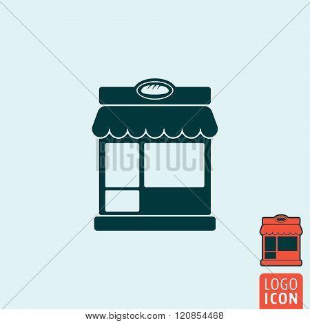 Bakery Icon Isolated