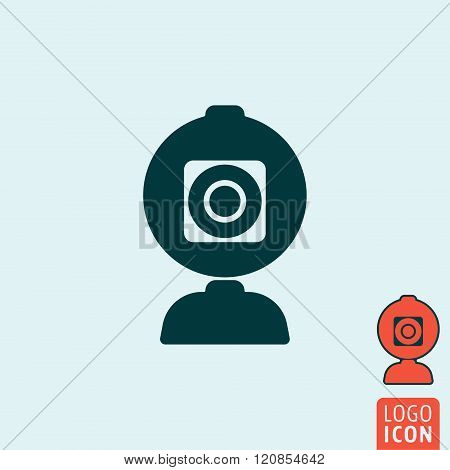 Web Camera Icon Isolated
