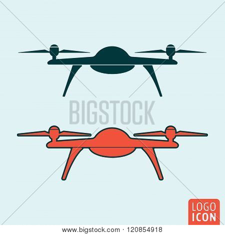 Drone Icon Isolated