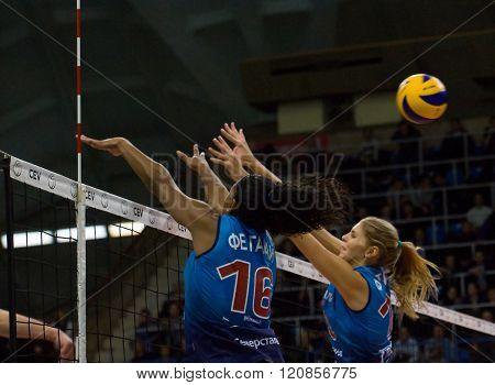 F. G. Rodrigez (16) And I. Fetisova (13)