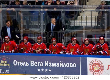 Russia Team Bench