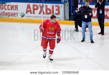 Russian Rocket P. Bure (10) Training
