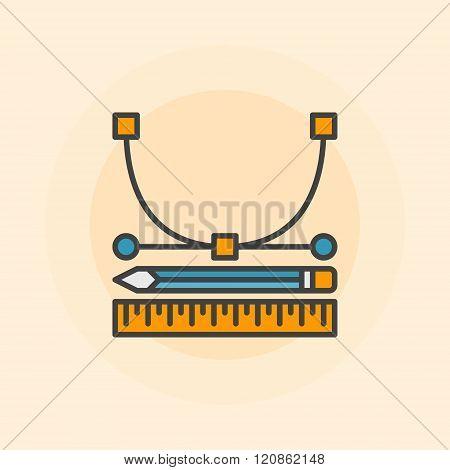 Vector design icon or logo
