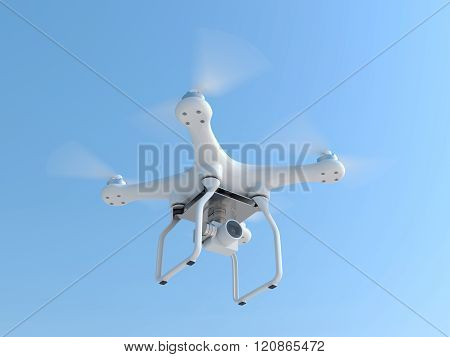 Drone Quadcopter Taking Photography
