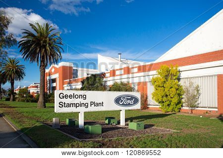 Australian Ford Factory in Geelong