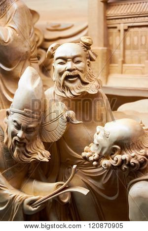 Chinese Vintage Statues, Sculpture, Art Figures