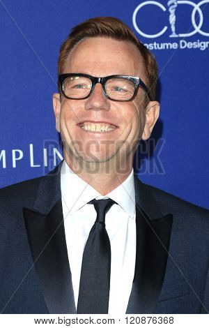 LOS ANGELES - FEB 23: Christopher Lawrence at the 18th Costume Designers Guild Awards at the Beverly Hilton Hotel on February 23, 2016 in Beverly Hills, California