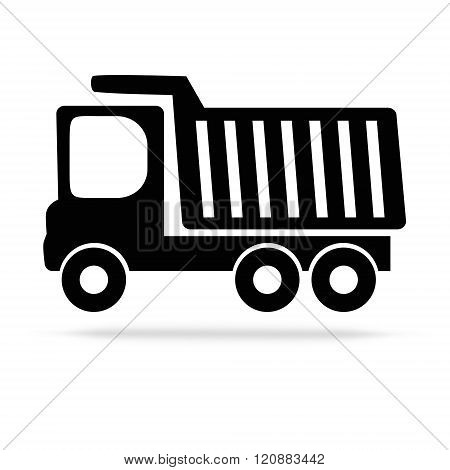 Tipper Flat Vector Icon