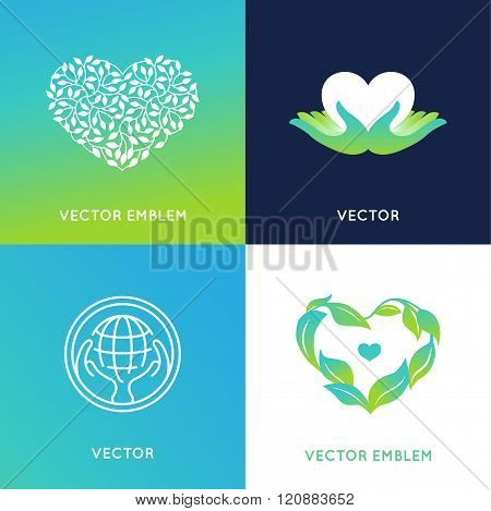 Vector Set Of Logo Design Templates And Badges