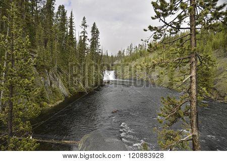 River Of Moose Falls