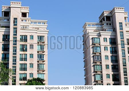 Apartment Buildings in Shanghai